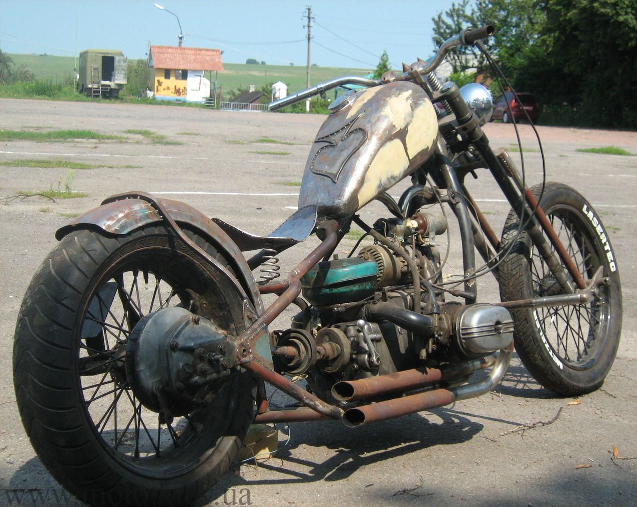 Фото самодельных мотоциклов русских 6