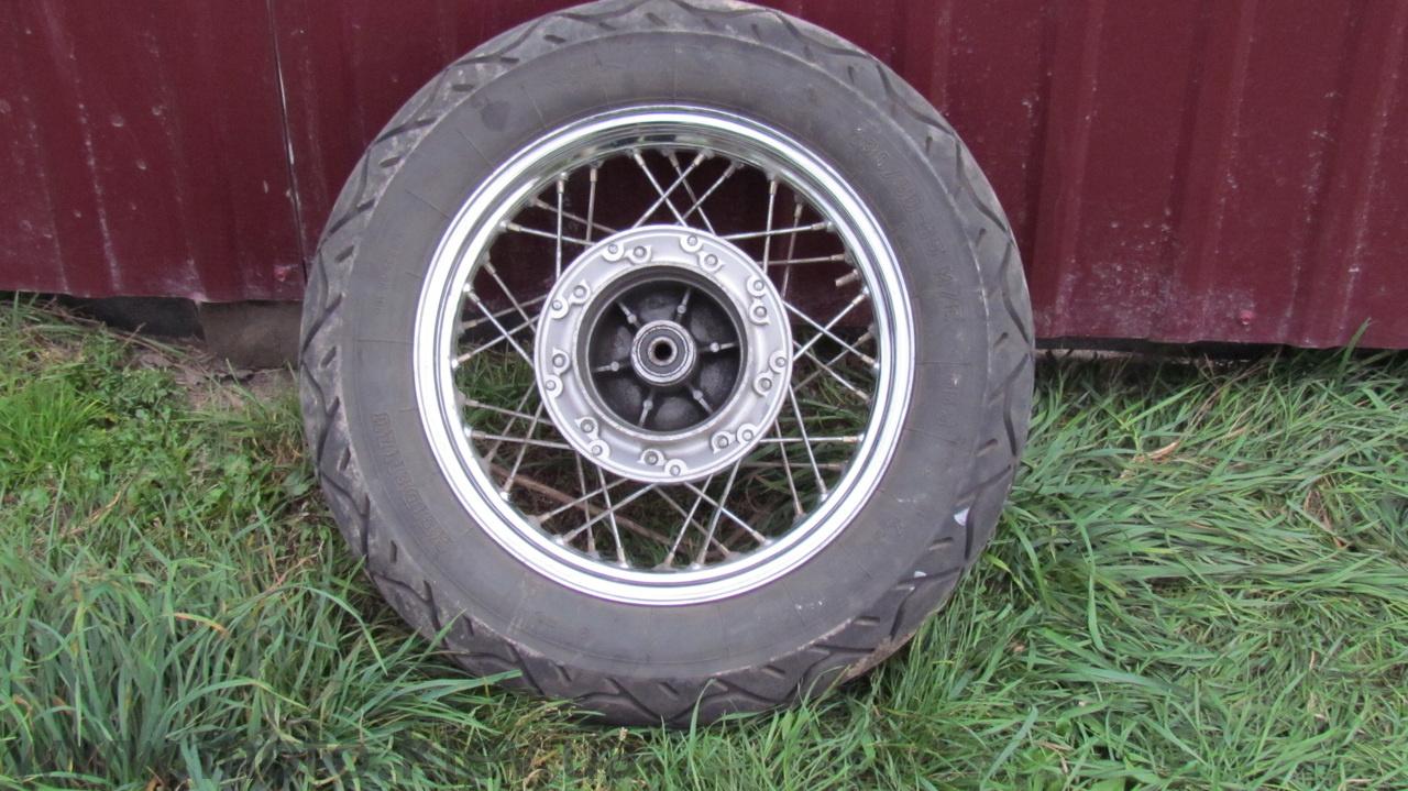 Продам заднее колесо Zongshen LZX 200 1349725426141